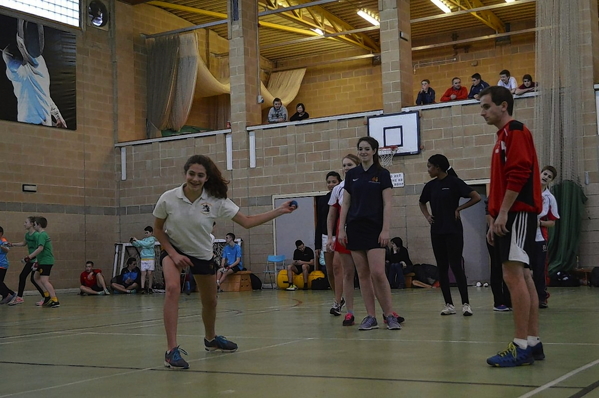 Merchant Taylors' School hosted the largest European Open wallball event