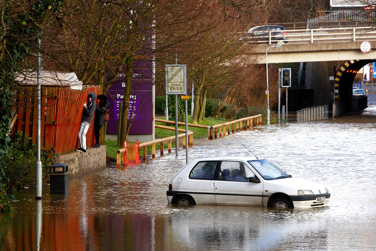 Watford and Bushey main roads reopened following floods