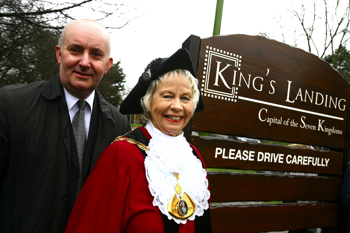 VIDEO: Kings Langley transforms into kingdom of Kings Landing