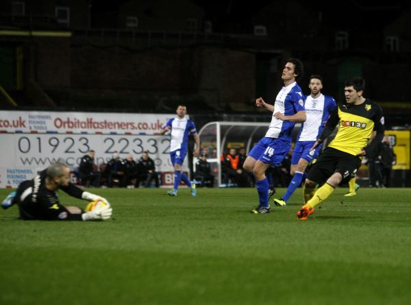 Troy Deeney goal the difference again as Watford do the