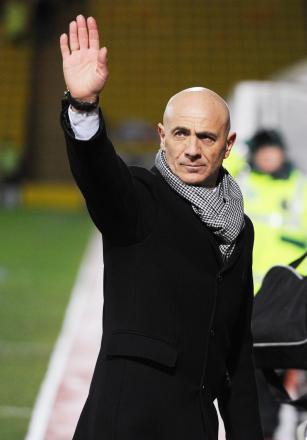 Beppe Sannino apologised after the Hornets were unable to apply pressure on the Championship's top six. Picture: Action Images
