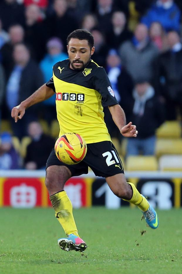 Watford Observer: Ikechi Anya could return against Middlesbrough.