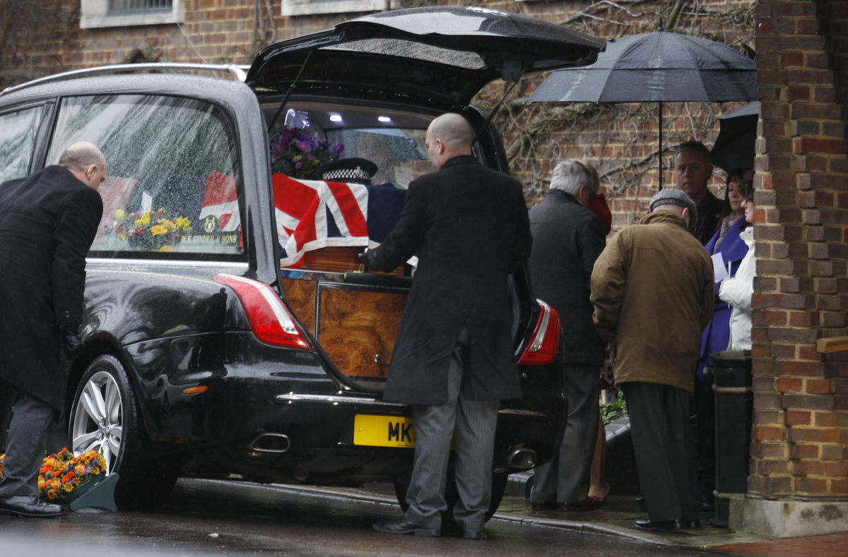 Hundreds attend funeral of M1 Samaritan Spencer Bell