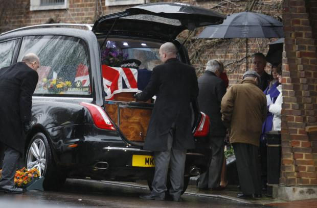 Watford Observer: Hundreds attend funeral of M1 Samaritan Spencer Bell
