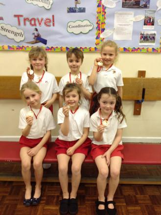 Primary school gym stars scoop medals