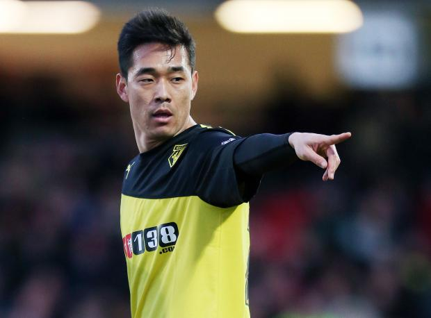 Park Chu-Young came on as a late substitute against Brighton & Hove Albion. Picture: Action Images