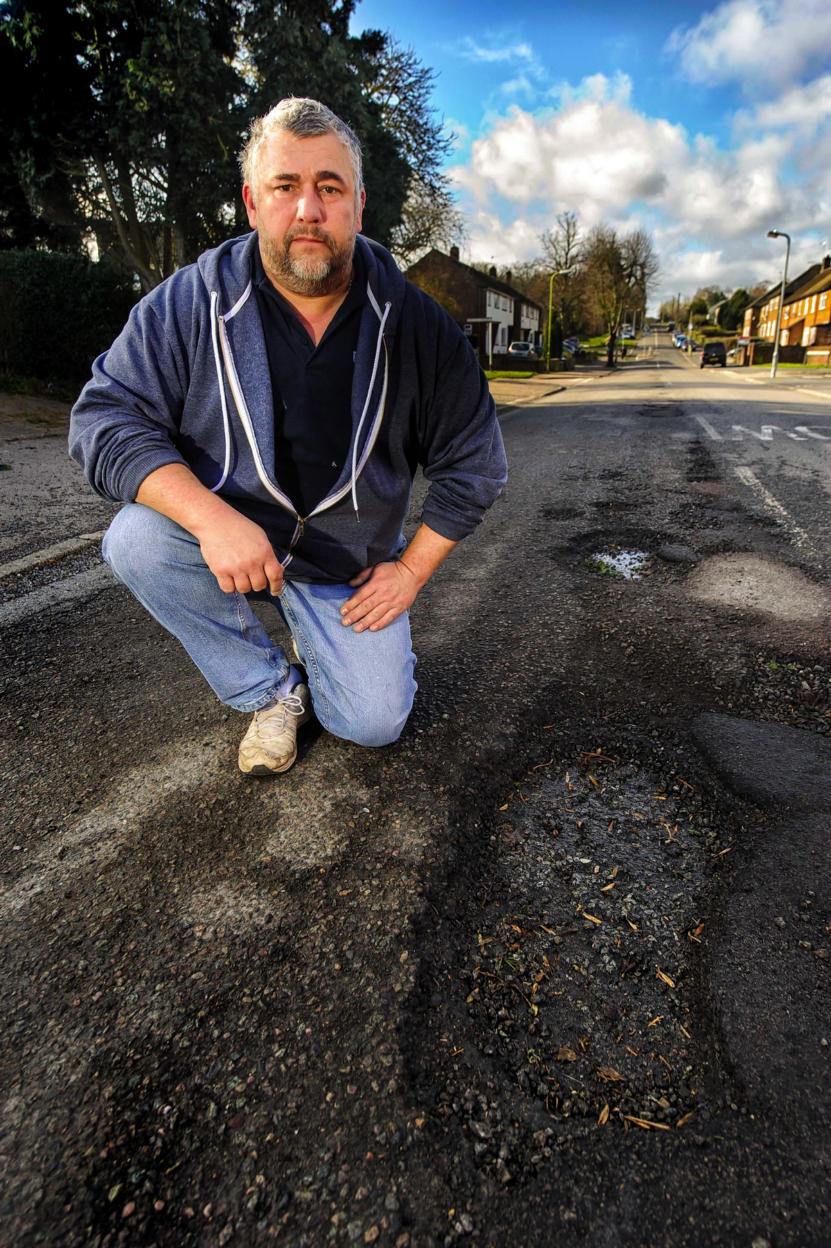 Concern over 'dangerous' South Oxhey road