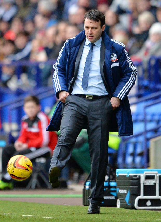Watford Observer: Bolton Wanderers boss Dougie Freedman. Picture: Action Images