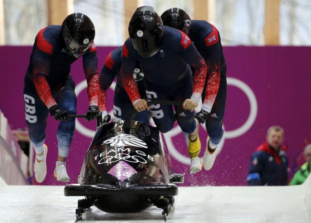 John Jackson's crew in action in Sochi. Picture: Action Images