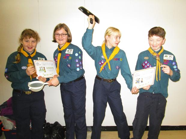 Abbots Langley scouts crowned cooking champions in county contest