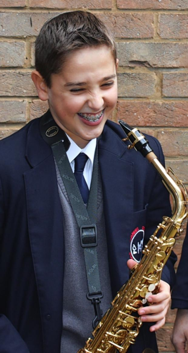 Watford Observer: Young saxophonist into final of musician of the year competition