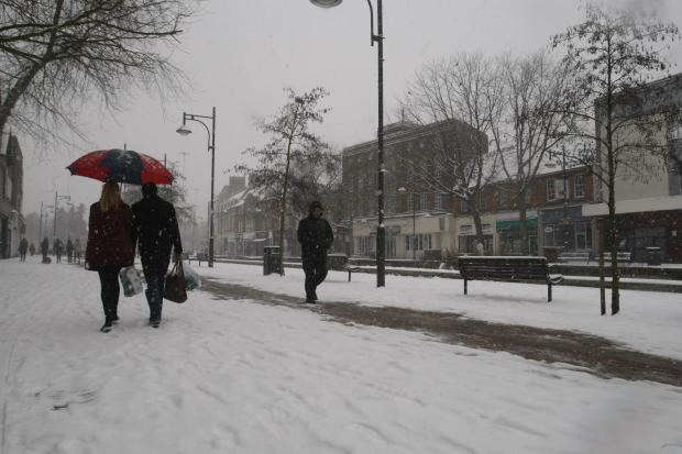 Watford Observer: Met Office issues snow warning for south west Hertfordshire