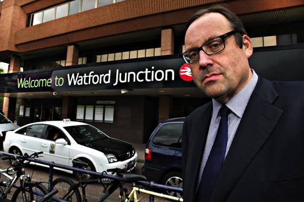 Watford MP Richard Harrington: pleased London Midland and the council are now accepting that something has to be done.