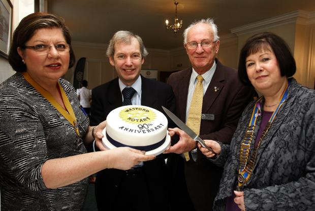 Watford Rotary Club marks 90th anniversary with celebration dinner