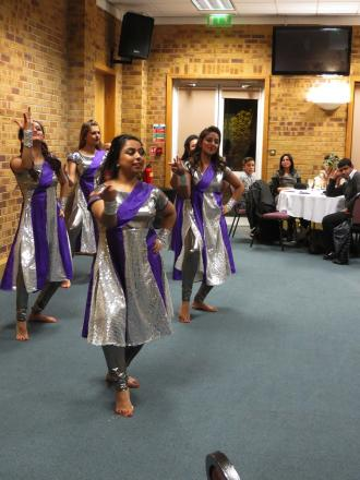 Indian dancers perform at church fundraiser