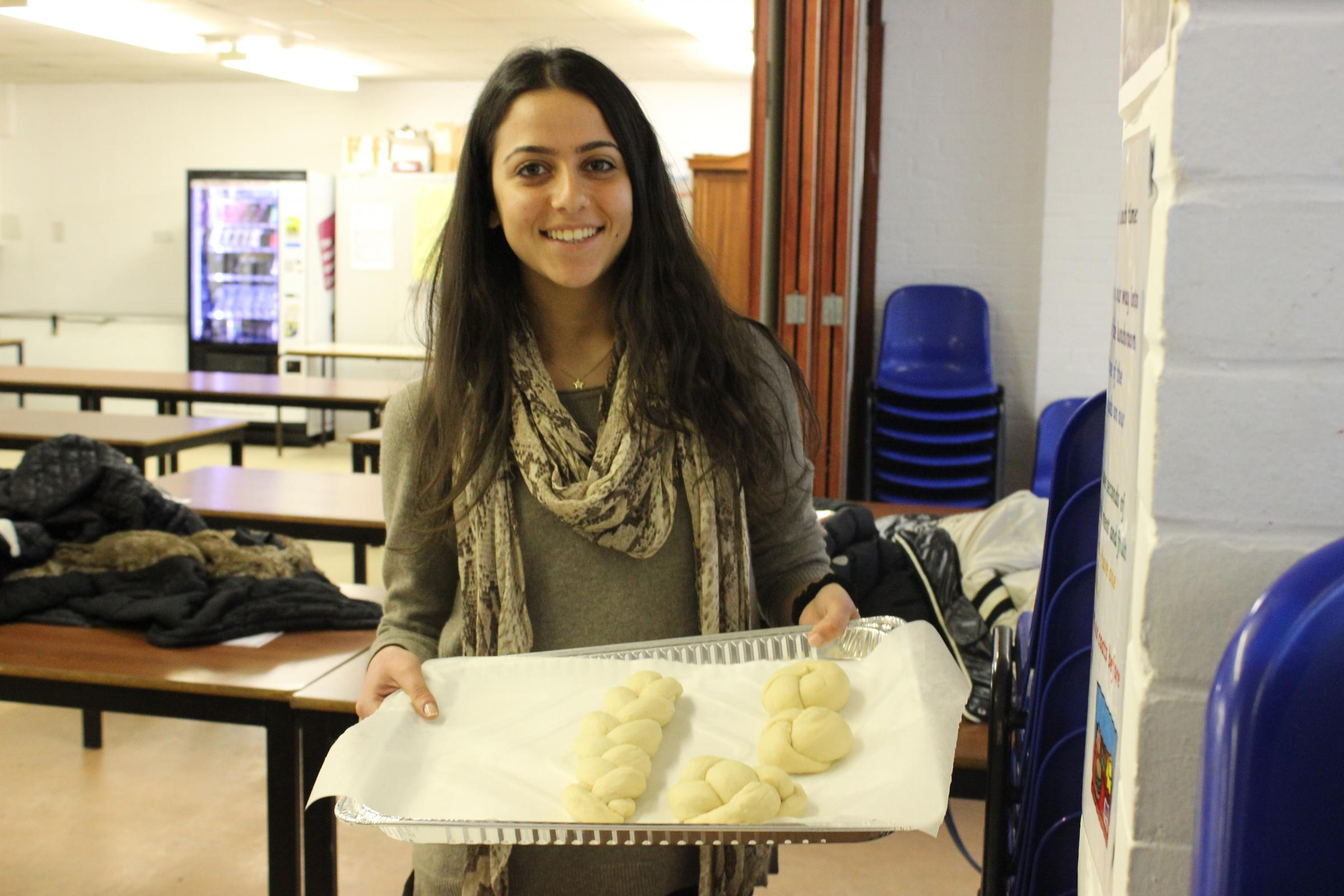 Immanuel College psychology students bake to beat stress
