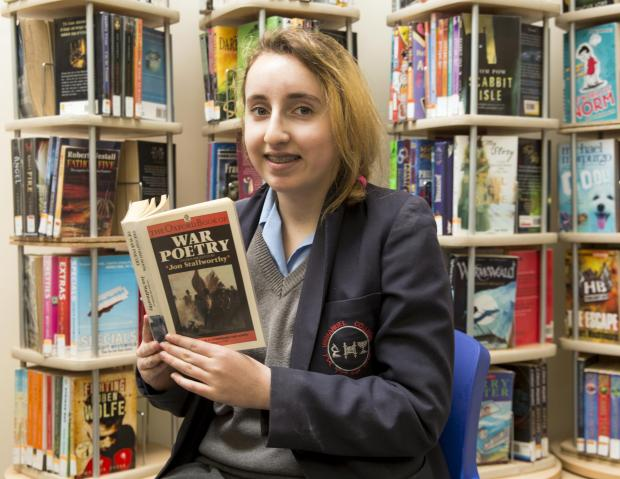Bushey schoolgirl praised during Jewish Book Week