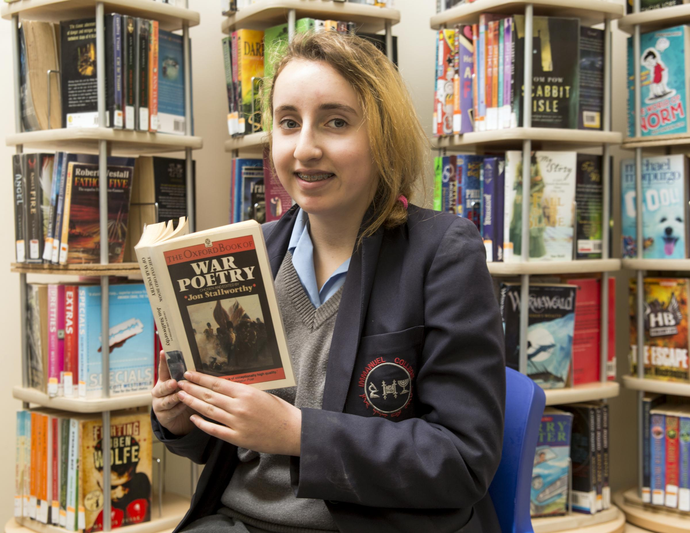 Bushey schoolgirl praised during Jewish Book We