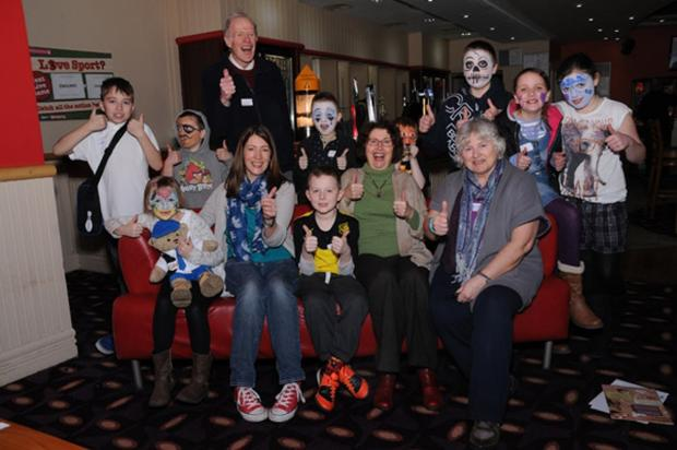 Children strike it lucky with Peace Hospice Care bowling trip