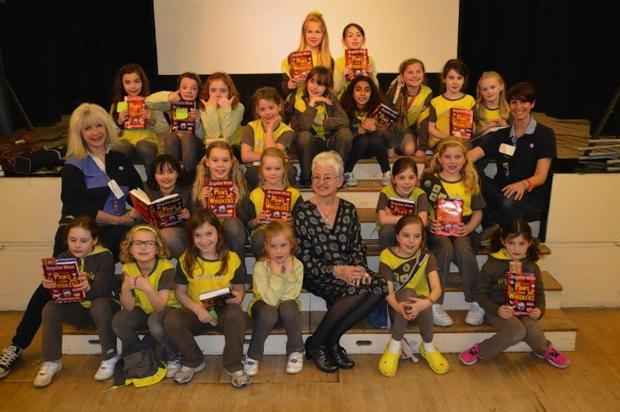 Jacqueline Wilson visits Chorleywood literary sleep-over