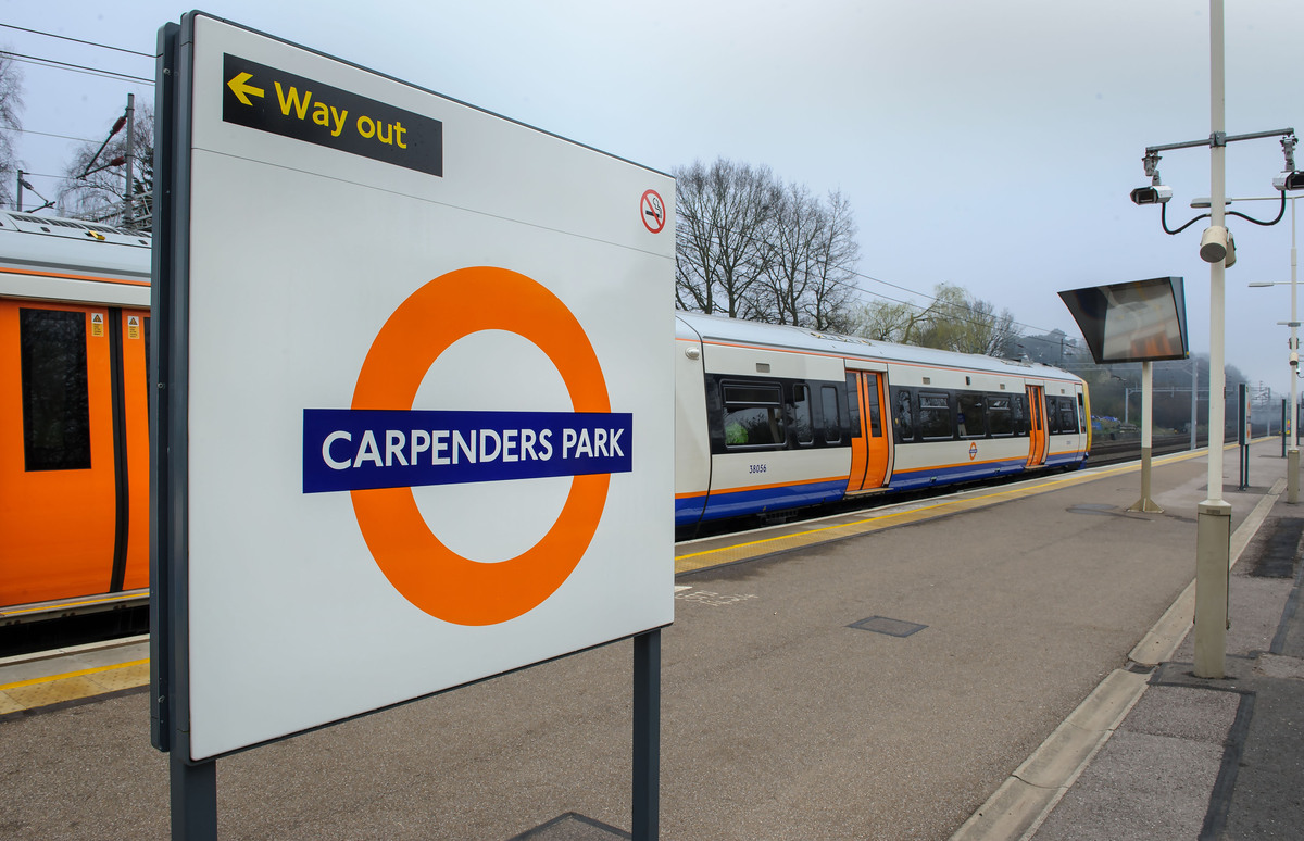 Carpenders Park Station celebrates 100th birthday