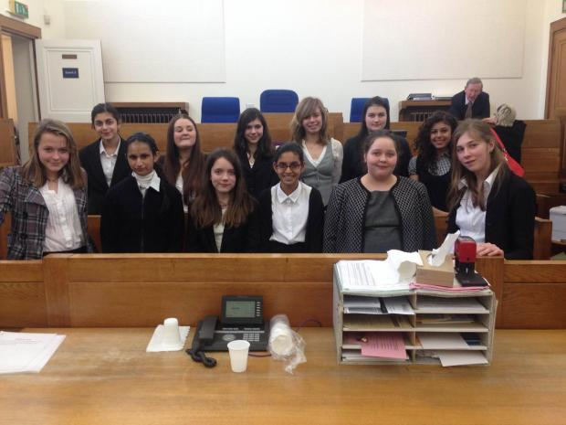 Bushey Academy success in Magistrate's Court competition