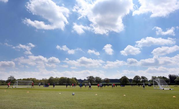 Watford's London Colney training ground. Picture: Action Images