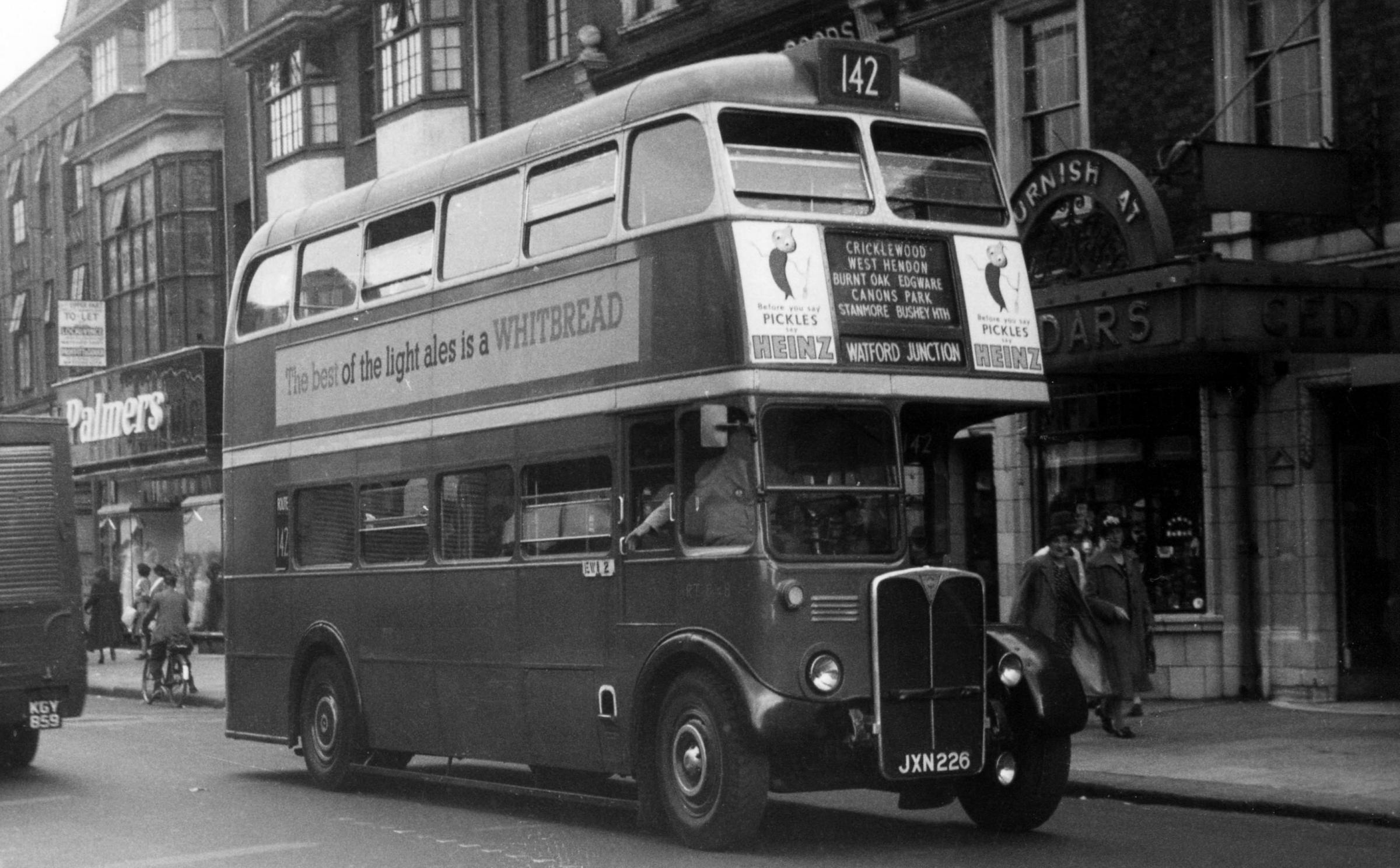 Day of celebration to mark bus route's centenary