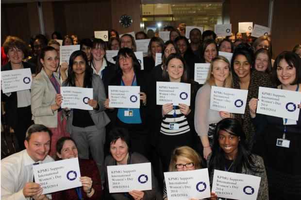Watford workers raise £600 for charity on International Women's Day