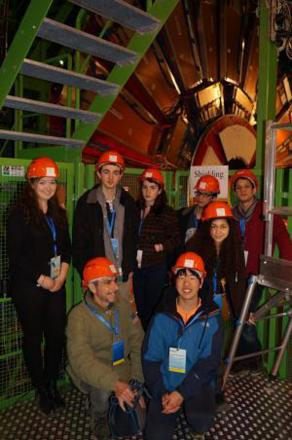 Kings Langley students visit Large Hadron Collider