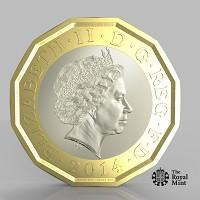 Watford Observer: The new one pound coin announced by the Government will be the most secure coin in circulation in the world (HM Treasury/PA)