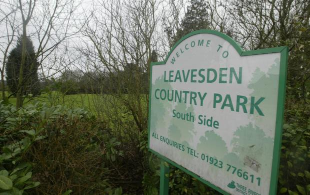 Free compost in Leavesden Country Park