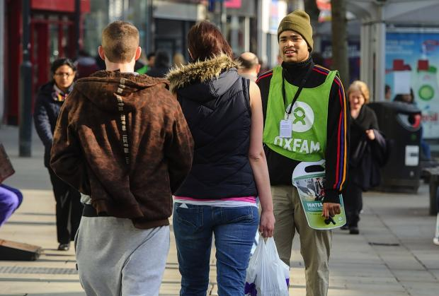 Column: 'Chuggers' – only the charities, it seems, will miss them