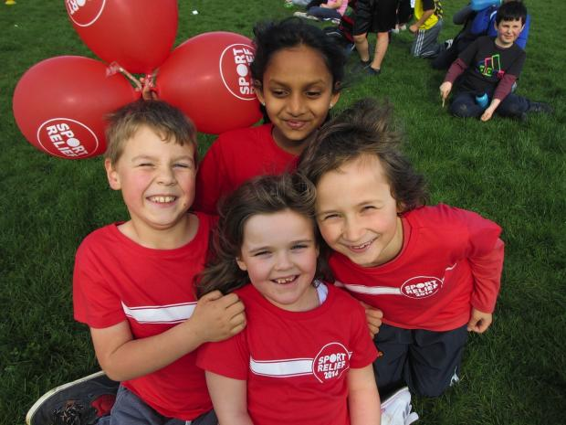 Leo, Abigail, Leonard and Laxsana take on fresh challenges in the Laurance Haines Sport relief Mile