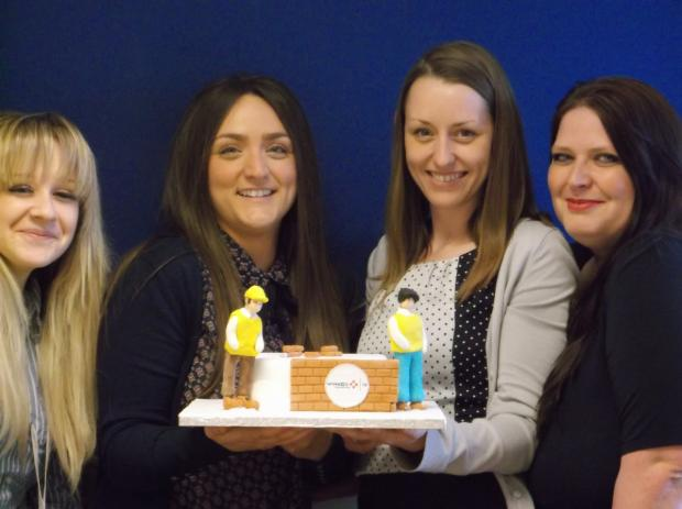 The Fruit Cakes are (from the left)  Stacie Inch, Mandy Devereux, Nikita Swatton and Nichole Sizer.