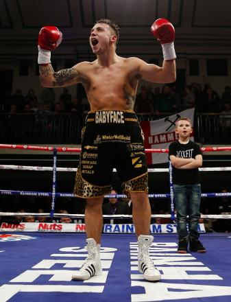 Mitchell Smith is looking forward to showing Wednesday's bout is not a 50-50 fight. Picture: Action Images