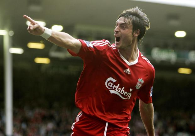 Albert Riera spent two years at Liverpool between 2008 and 2010. Picture: Action Images