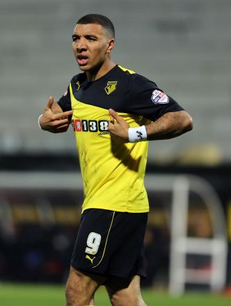 Troy Deeney has come third in the Player of the Season standings in each of the past two seasons. Picture: Dave Peters