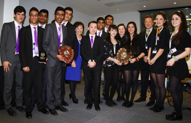 Watford students put on their business hats at Young Enterprise competition