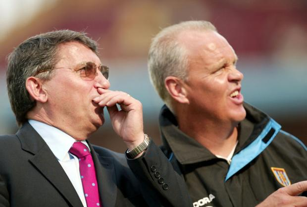 John Deehan was assistant to Graham Taylor at Aston Villa. Picture: Action Images