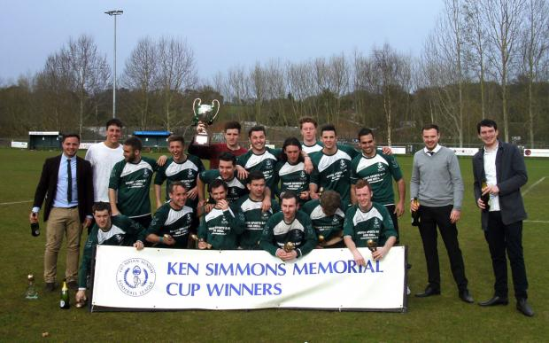 Ken Simmons Memorial Cup winners Old Danes Athletic.