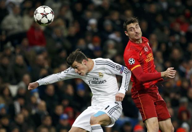 Albert Riera in action against Real Madrid earlier this season. Picture: Action Images