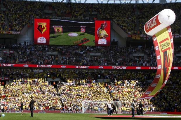 Watford Observer: Watford reached the Championship play-off final last season. Picture: Holly Cant
