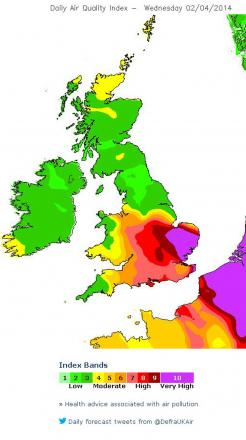 Picture from Defra