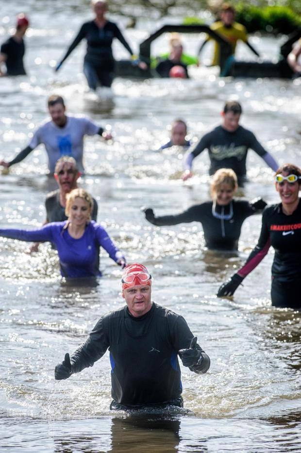 Watford Observer: Thousands raised by 'gruelling' Peace Hospice River Runner event