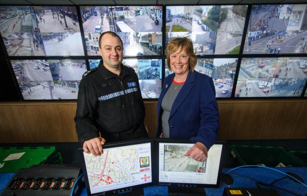 New police CCTV control room opens in Watford