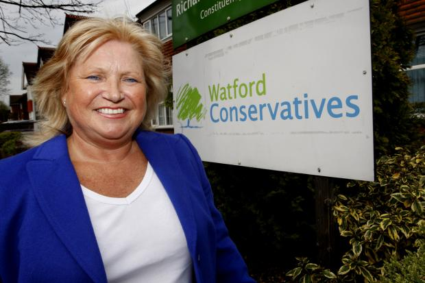 Conservative mayoral candidate Linda Topping outlines plans for town hall