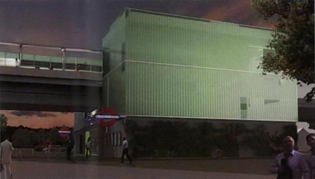 Croxley Rail Link: plans revealed for 'unobtrusive' glow in the dark tube station