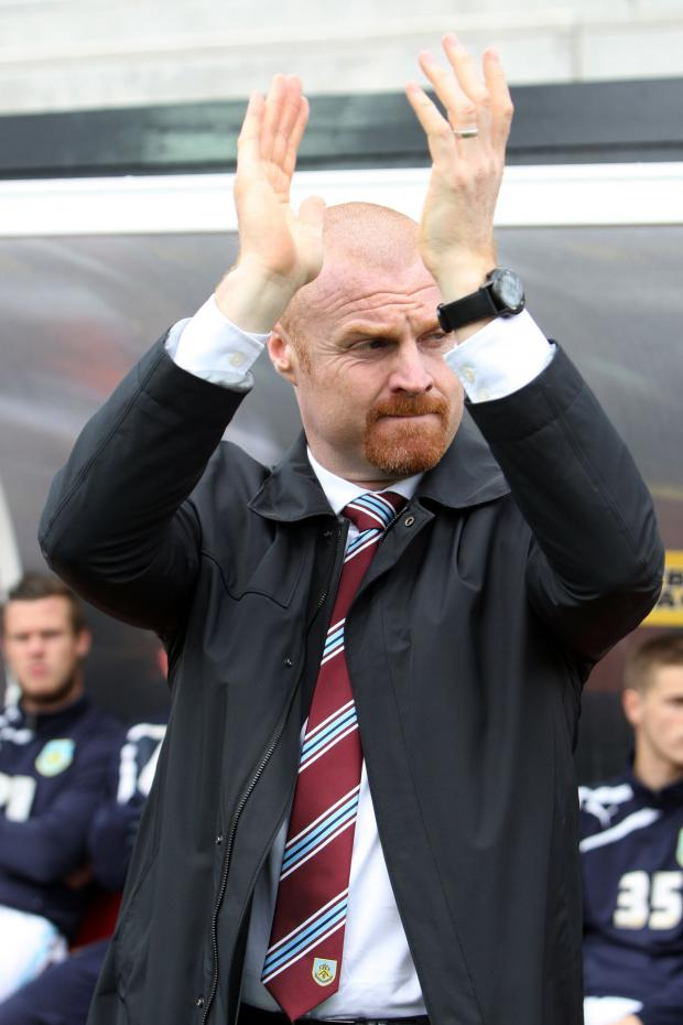 Watford Observer: Sean Dyche applauds the fans at Vicarage Road. Picture: Action Images
