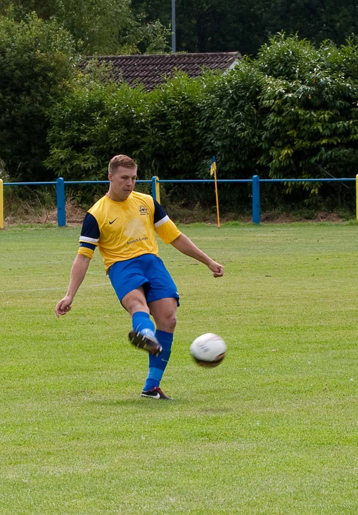 Max Moore opened the scoring for Sun against Harpenden